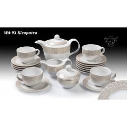 Serwis kawowy  WA-93 Kleopatra 12os. / 15elem.